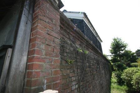 旧堀田廣之家住宅煉瓦塀