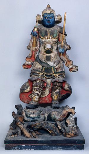 木造四天王像(天文八年康秀在銘)