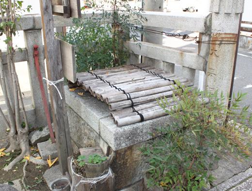 堤下神社の井戸