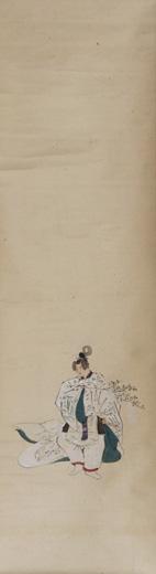 紙本著色津島神社年中祭事図