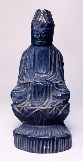 円空作木造菩薩坐像