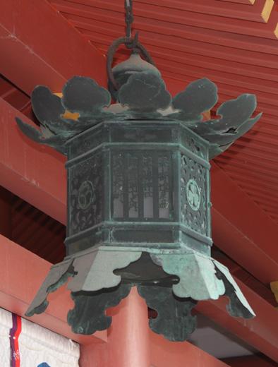 青銅釣燈籠