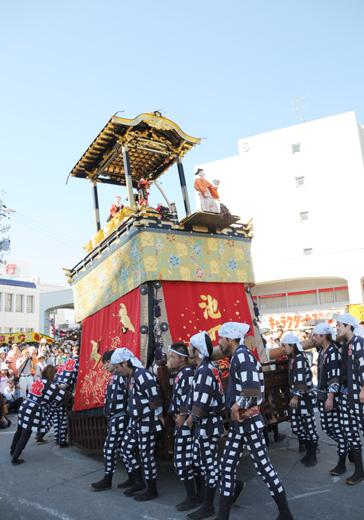津島秋祭池町山車(七切の山車)