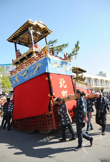 津島秋祭北町山車(七切の山車)