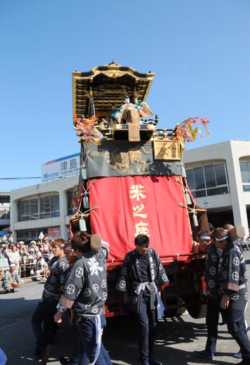 津島秋祭米之座山車(七切の山車)