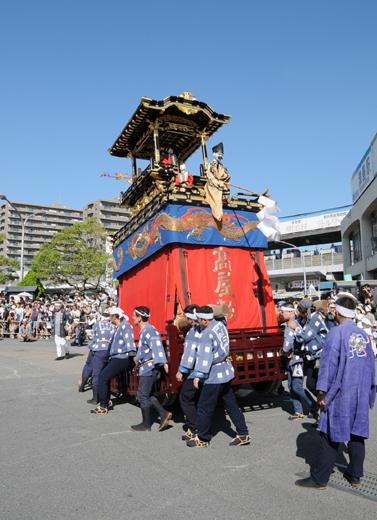 津島秋祭高屋敷山車(七切の山車)