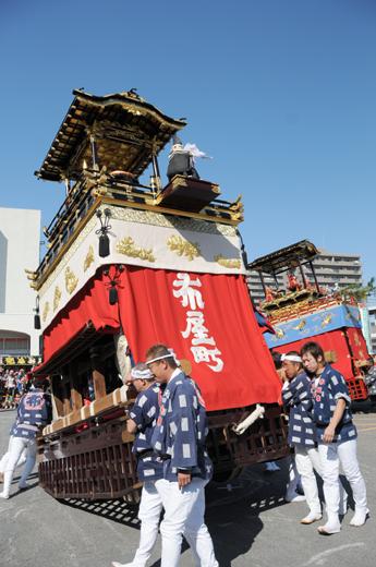 津島秋祭布屋町山車(七切の山車)