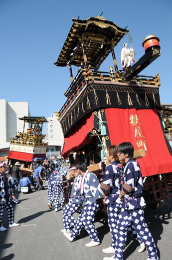 津島秋祭麩屋町山車(七切の山車)