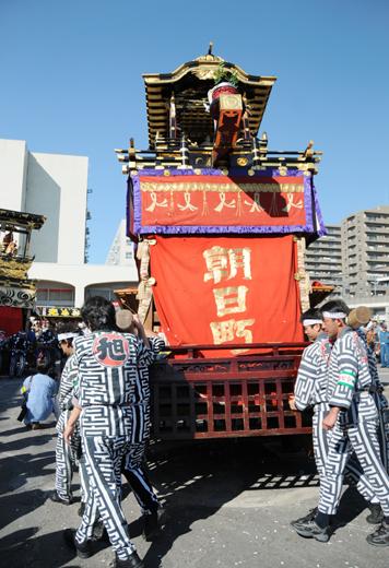津島秋祭朝日町山車(今市場の山車)
