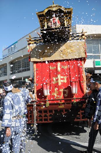 津島秋祭小中切山車(今市場の山車)