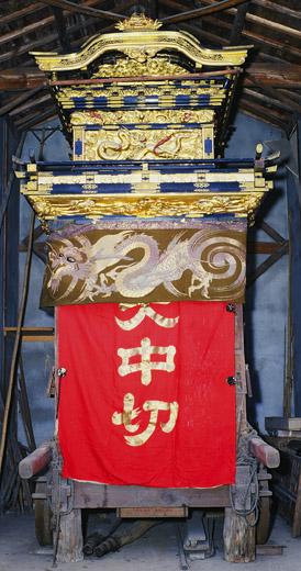 津島秋祭大中切山車(今市場の山車)