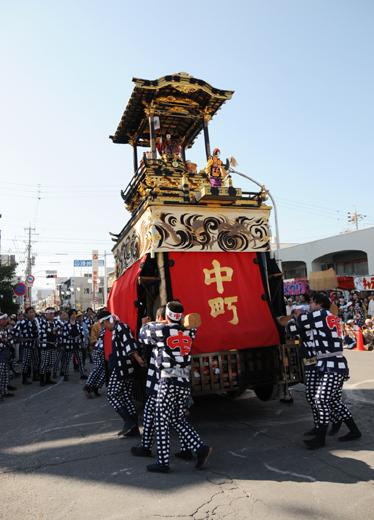 津島秋祭中町山車(向島の山車)
