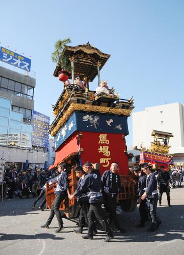 津島秋祭馬場町山車(向島の山車)