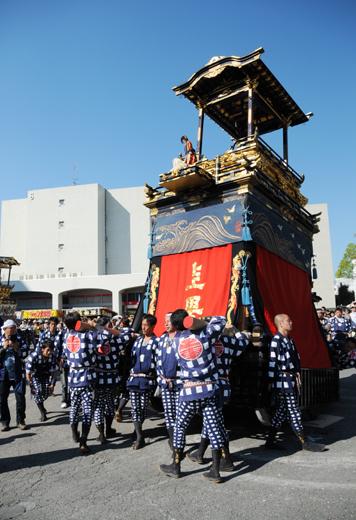 津島秋祭上町山車(向島の山車)
