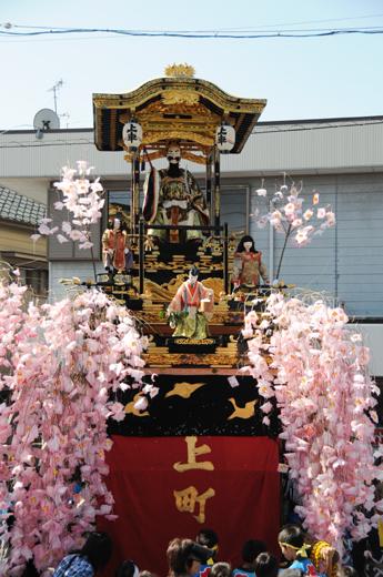 津島秋祭上町山車(神守の山車)