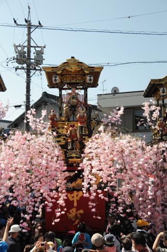 津島秋祭中町山車(神守の山車)