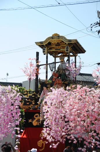 津島秋祭南町山車(神守の山車)