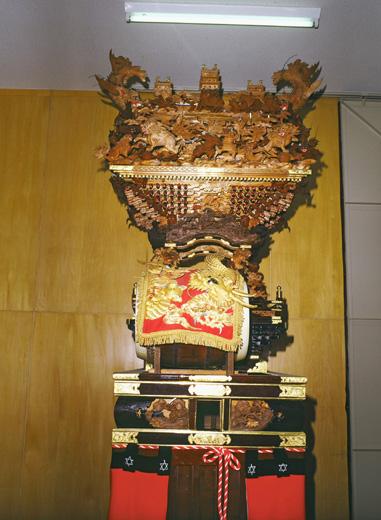 津島秋祭中一色町西之切神楽
