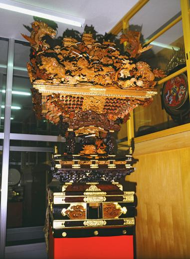津島秋祭中一色町市場之切神楽