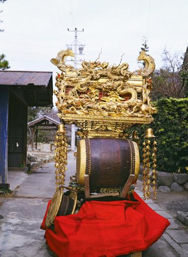 津島秋祭鹿伏兎町西之切神楽