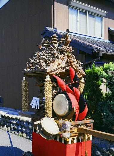 津島秋祭莪原町二十六人組神楽(右京神楽)