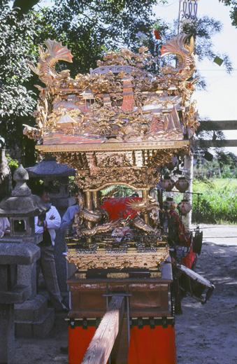 津島秋祭百町上之割神楽