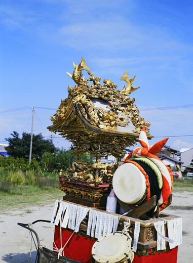津島秋祭百島町神楽