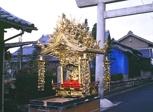 津島秋祭愛宕町神楽
