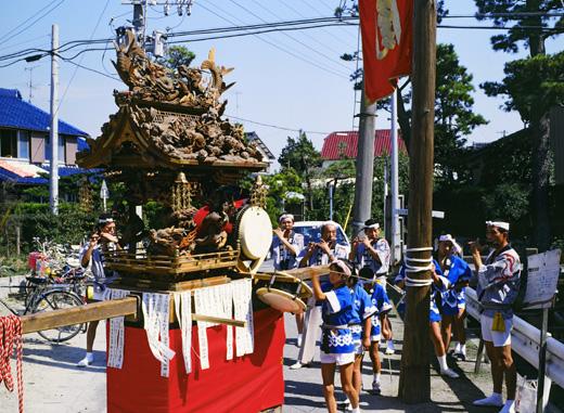 津島秋祭神尾町神楽