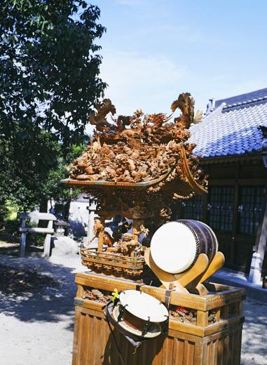 津島秋祭白浜町神楽