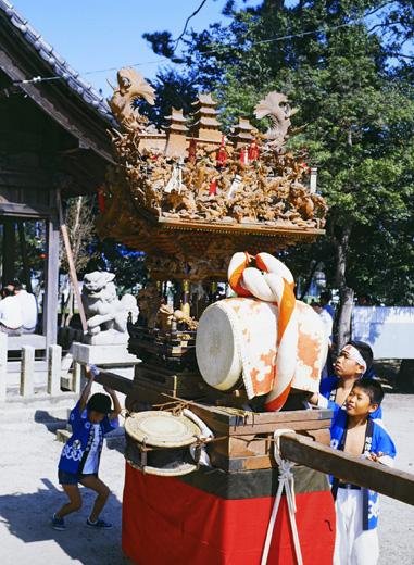 津島秋祭越津町神楽