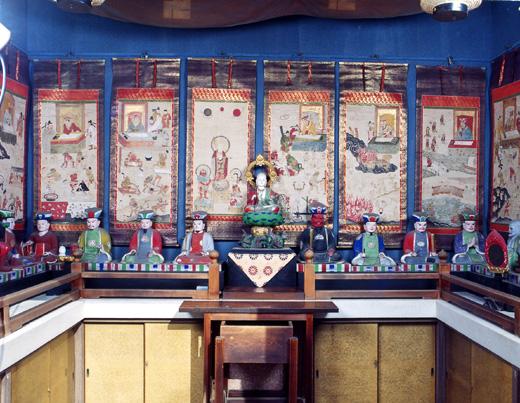 今市場十王堂の仏像・仏画