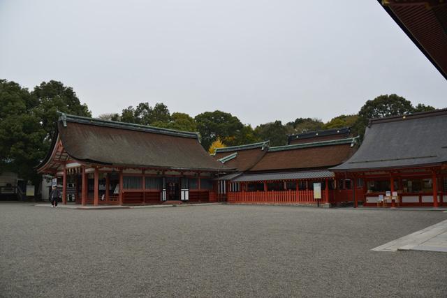 道標 津島神社本殿
