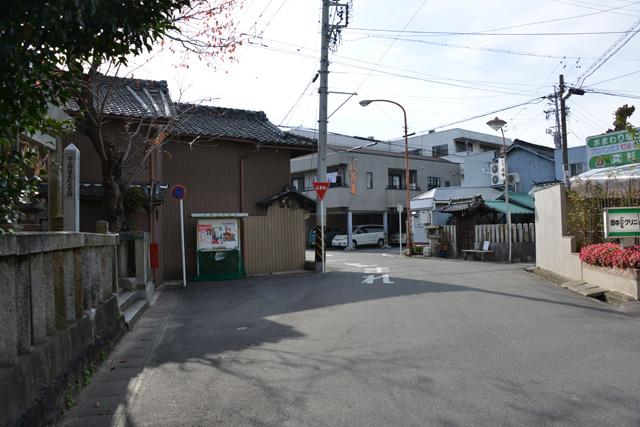 道標 旧上街道(本町・市神社)